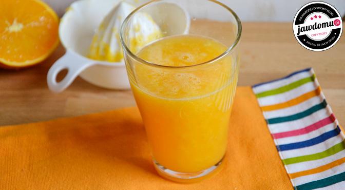Sok pomarańczowy przepis