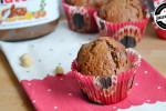 Muffinki z nutellą i orzeszkami ziemnymi